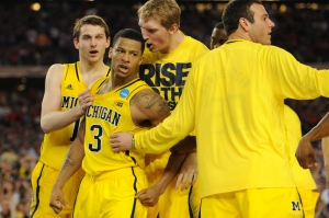 Even superman couldn't have stopped Trey Burke in the second haf of Friday's Sweet 16 contest vs. Kansas.